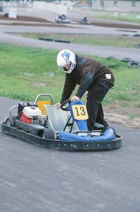 go karting motor racing