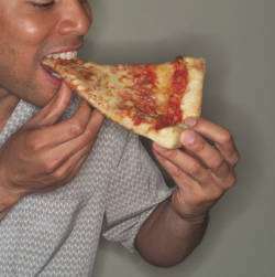 eating Pizza increases your cholesterol