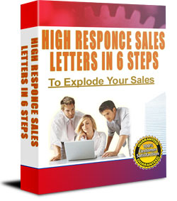 sales letter product