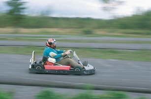 Go Kart ing motor racing